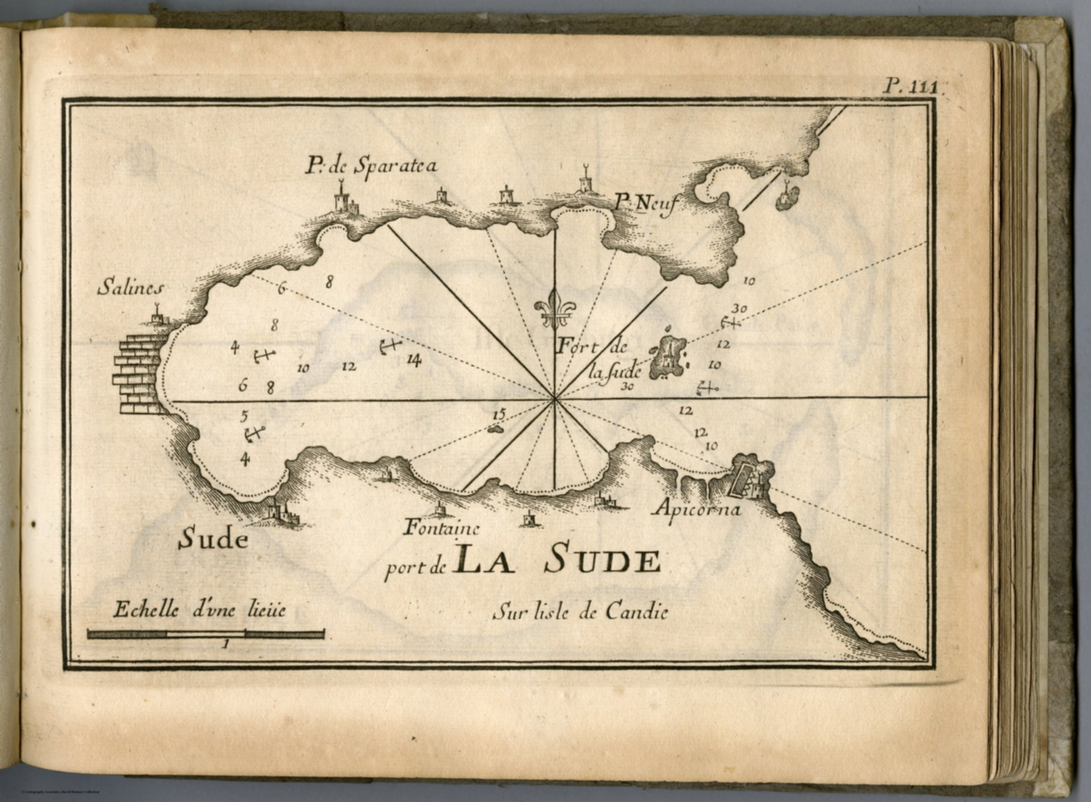 Pl 111 Souda Bay Crete Greece David Rumsey Historical Map