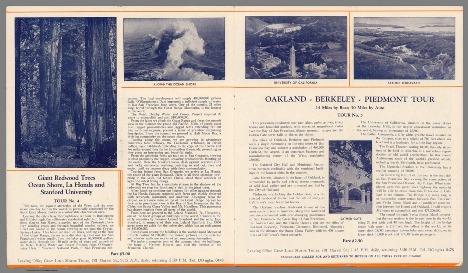 Text Page: Giant Redwood Trees     Oakland - Berkeley - Piedmont