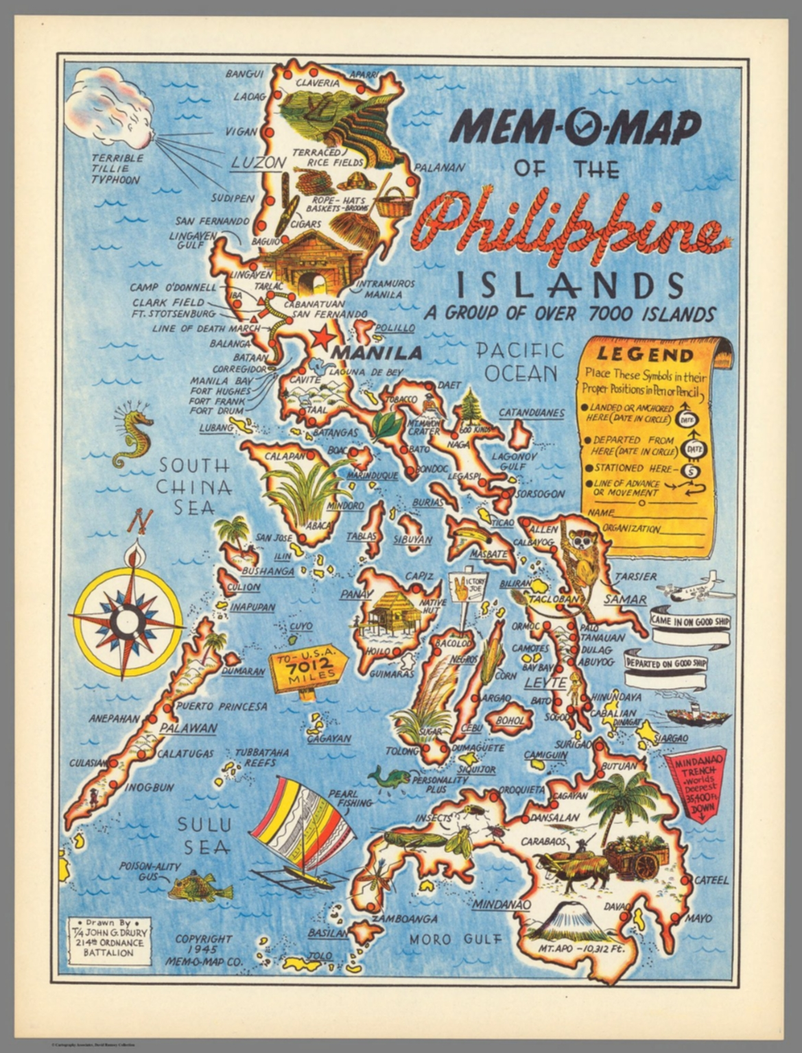 Mem o map of the philippine islands david rumsey historical map mem o map of the philippine islands gumiabroncs Images