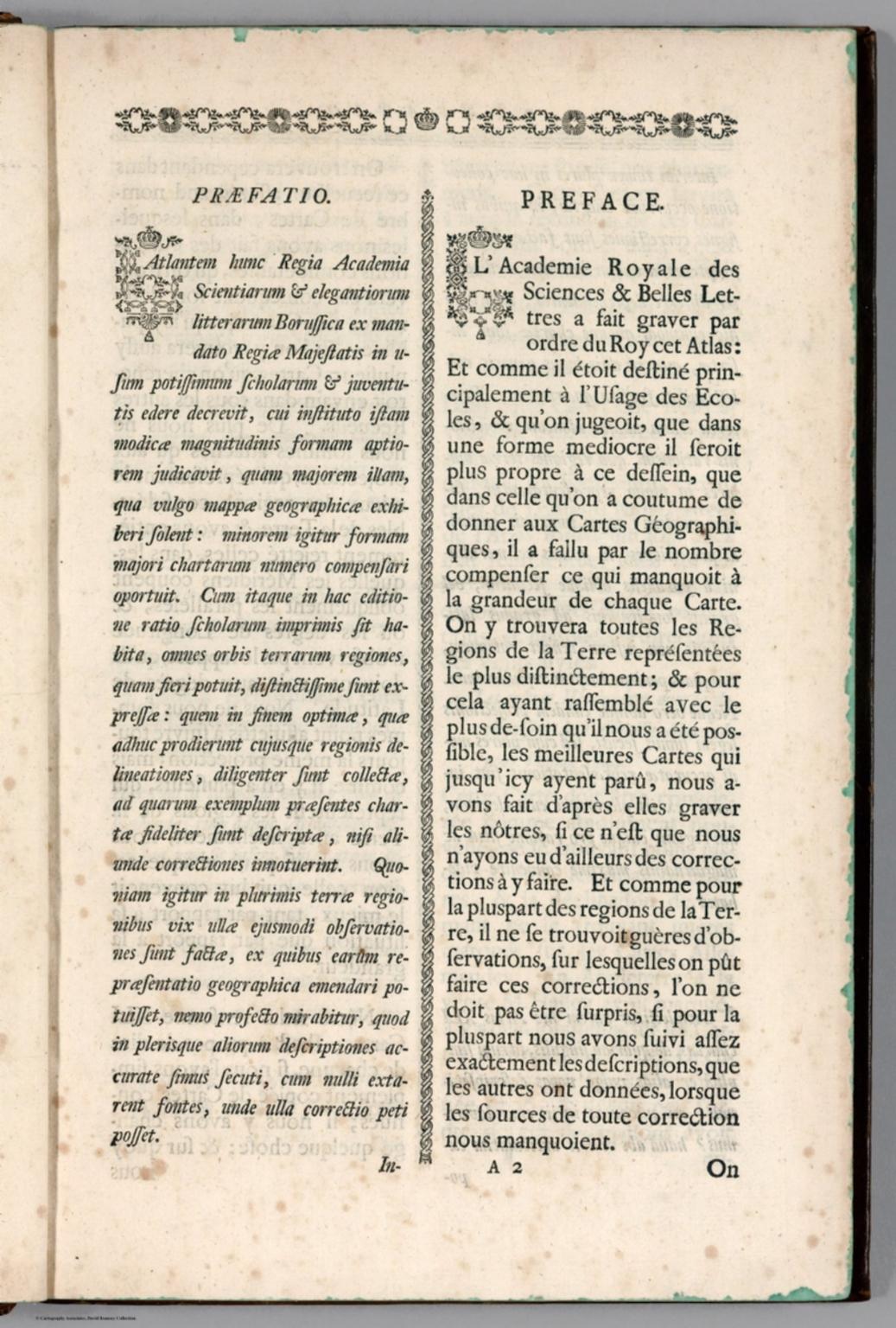 Text Page: Praefatio = Preface