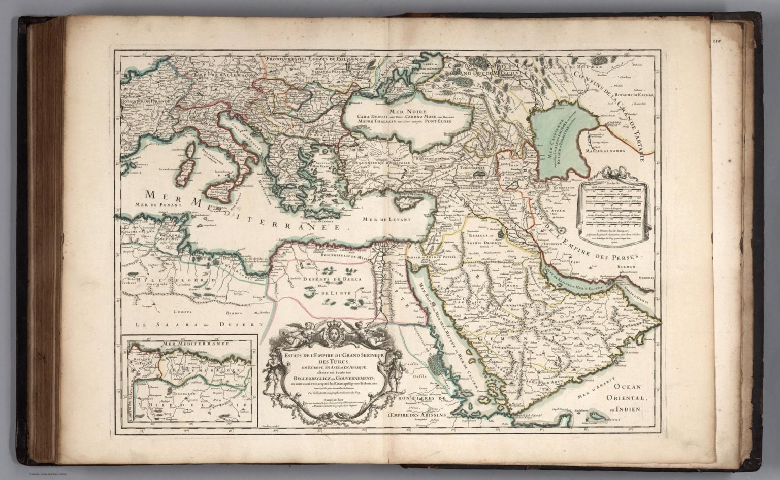 Estats de l'Empire du Grand Seigneur des Turcs.