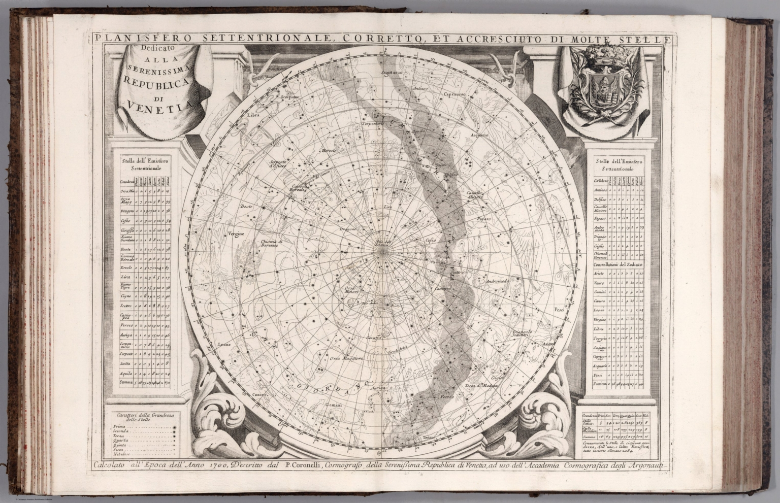 Planisfero Settentrionale David Rumsey Historical Map Collection