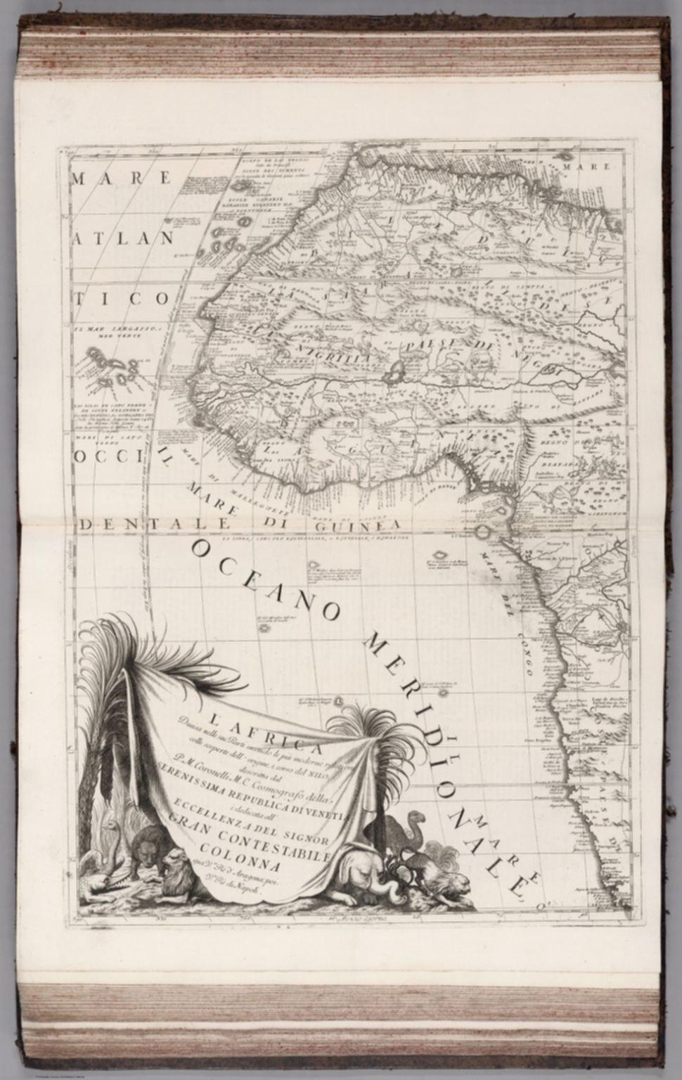 L'Africa (western sheet).