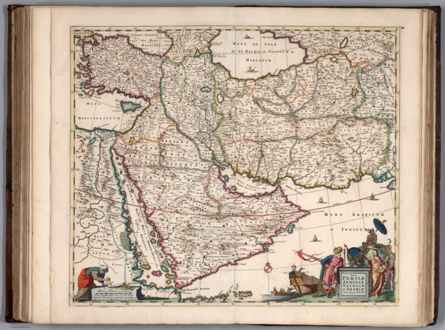 Nova Persiae, Armeniae, Natoliae et Arabiae.