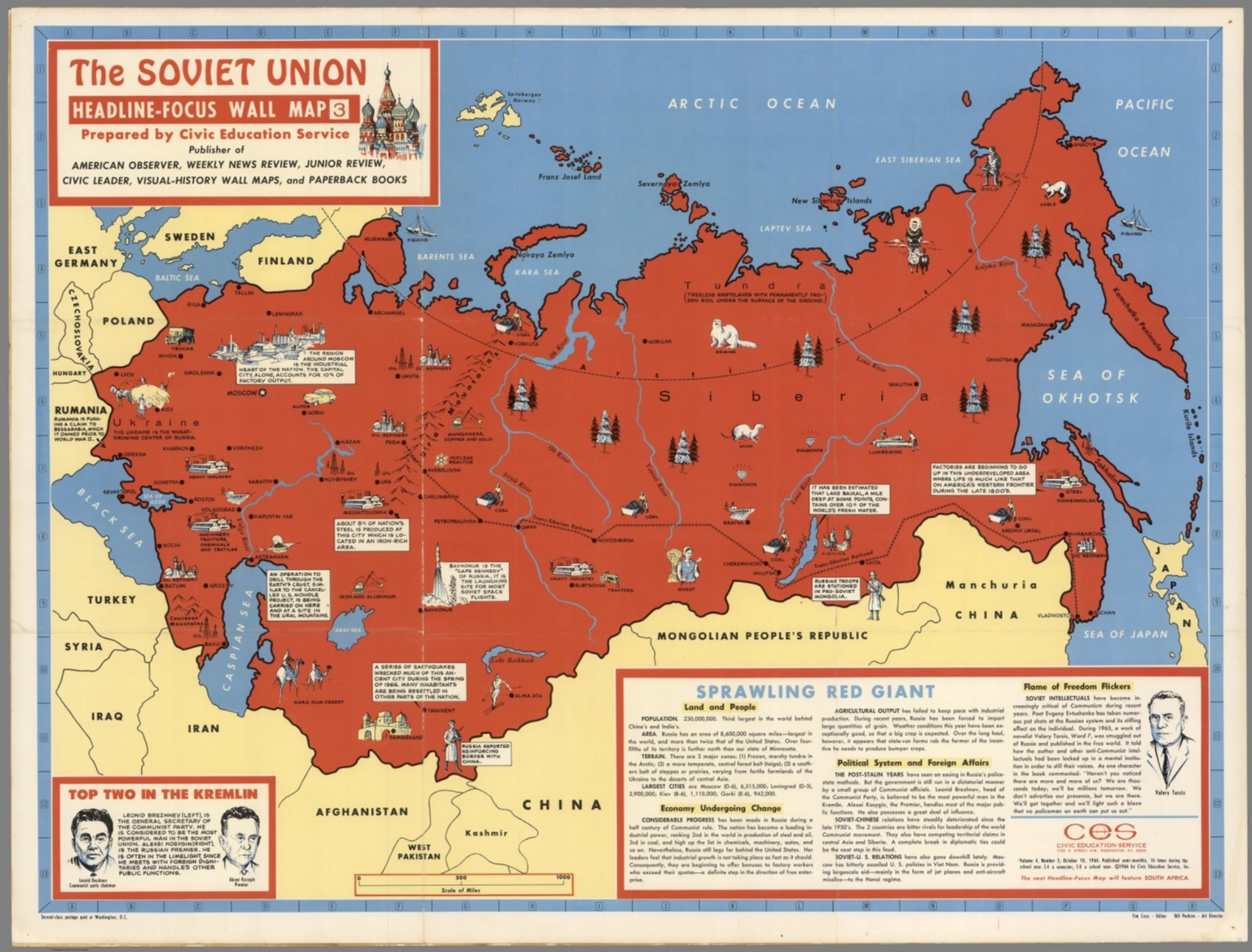 The Soviet Union HeadlineFocus Wall Map Sprawling Red Giant - Where can i buy a wall map
