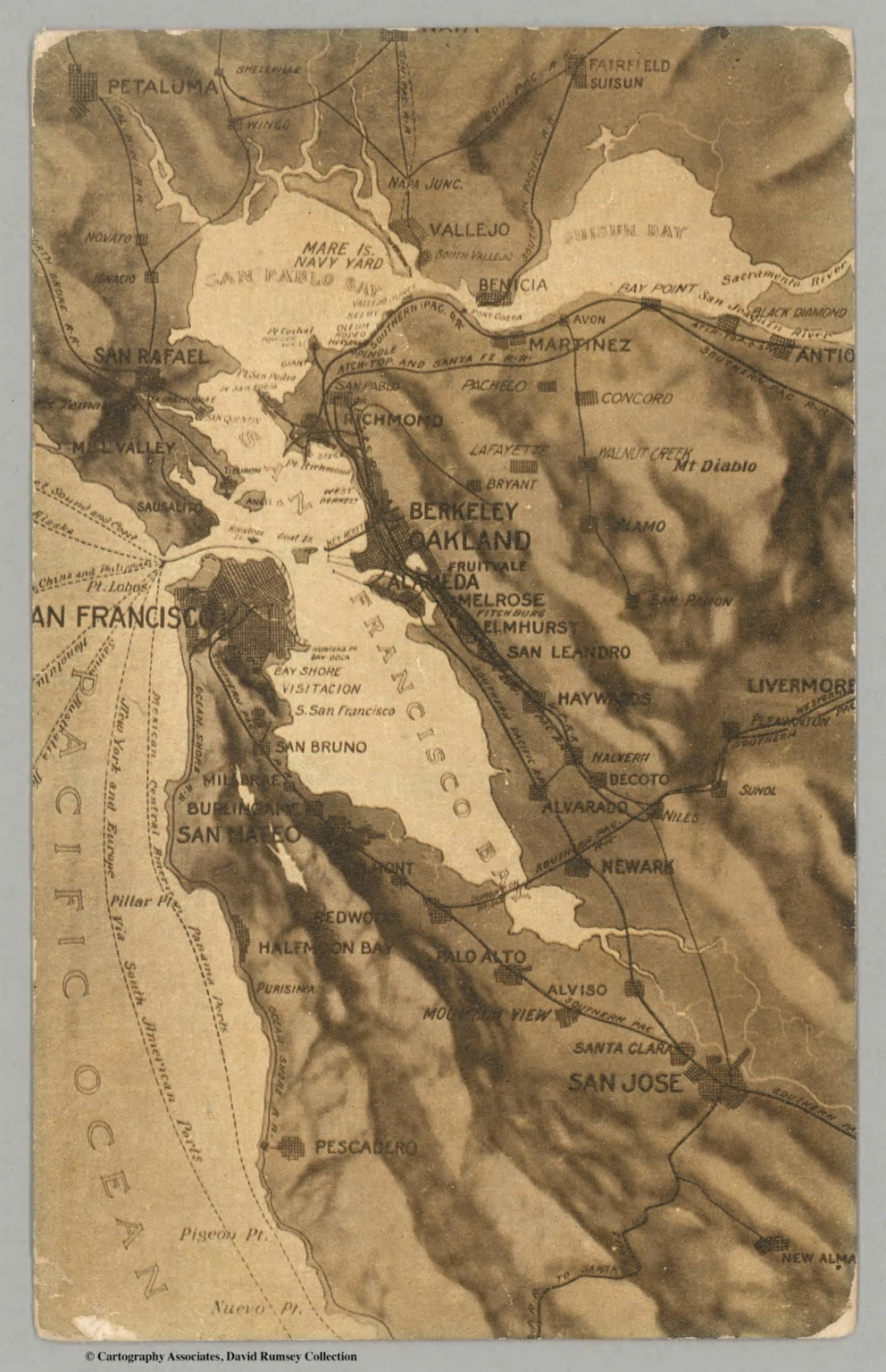 San Francisco Bay Area David Rumsey Historical Map Collection