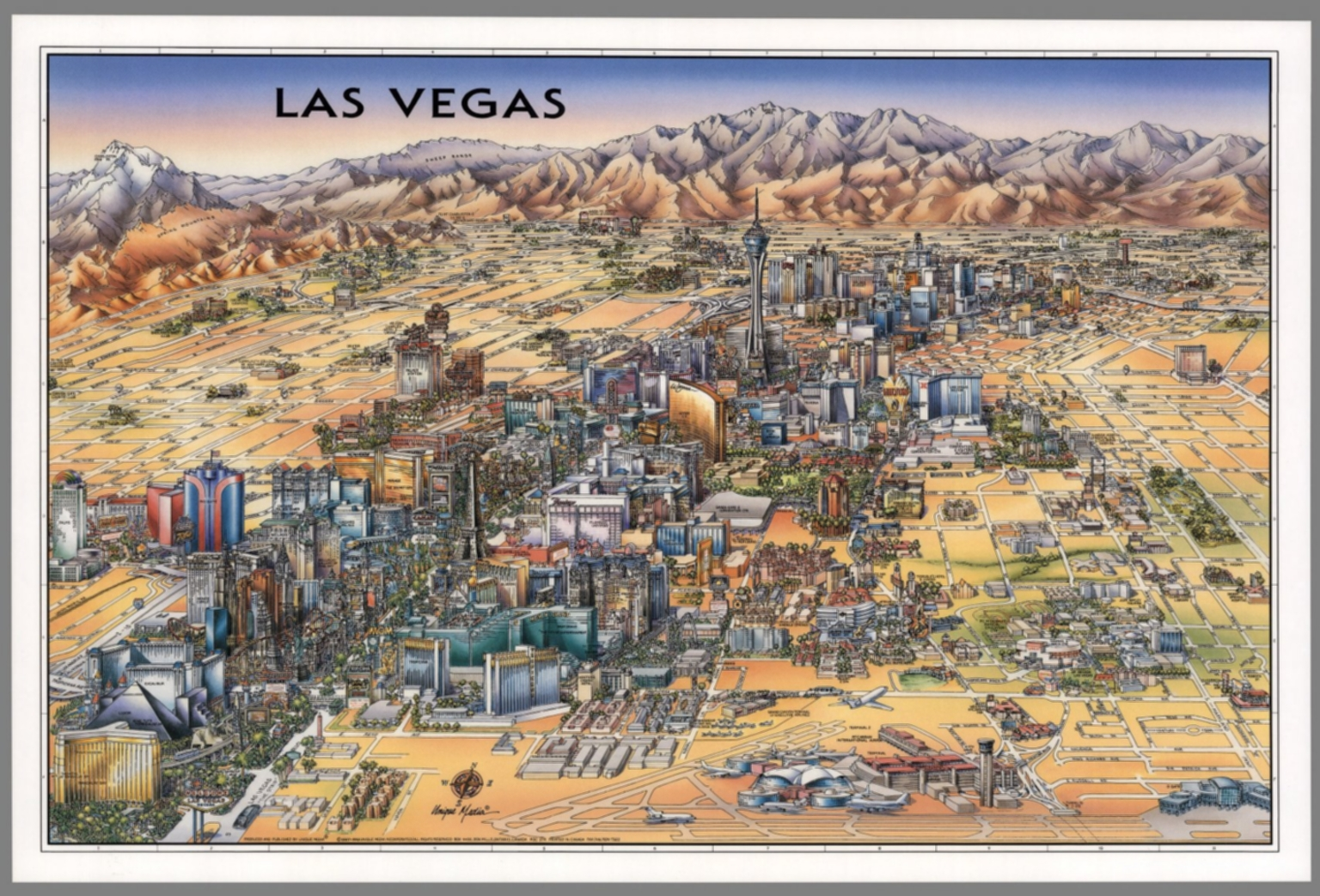 Las Vegas, Nevada. - David Rumsey Historical Map Collection