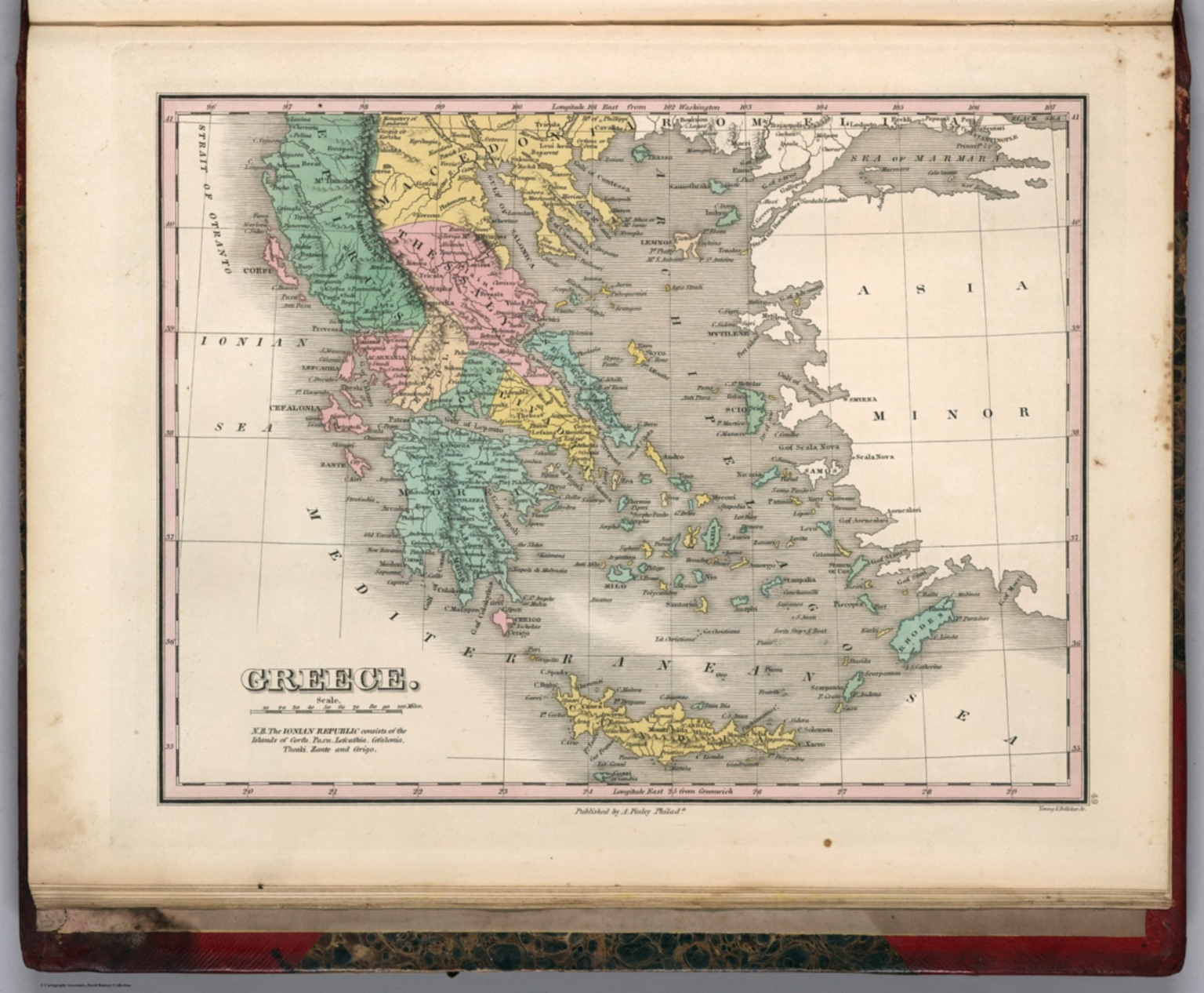 Greece david rumsey historical map collection greece gumiabroncs Choice Image