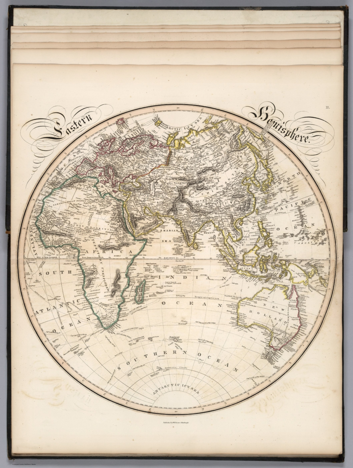 Eastern Hemisphere - David Rumsey Historical Map Collection