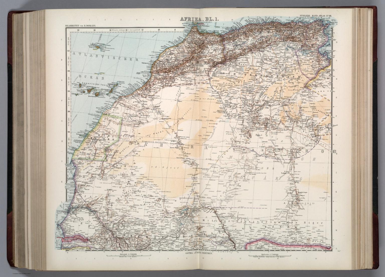 69. Afrika in 7 Blaettern, Bl. 1.