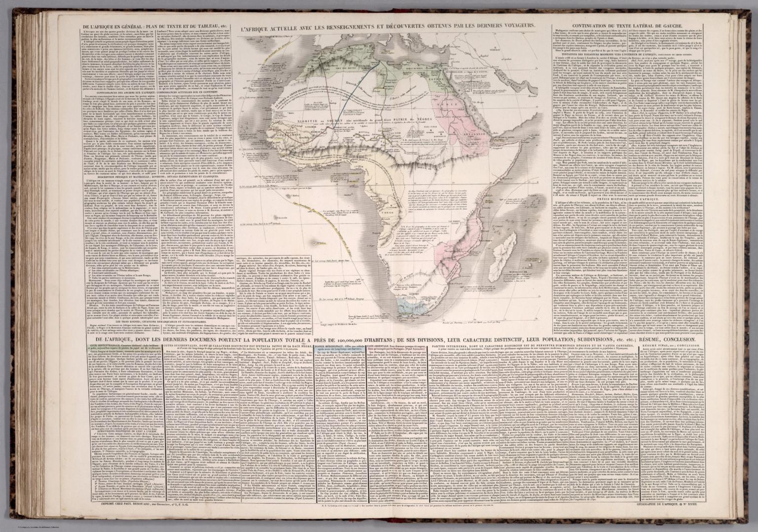 Geographie de l'Afrique. No. XXXII