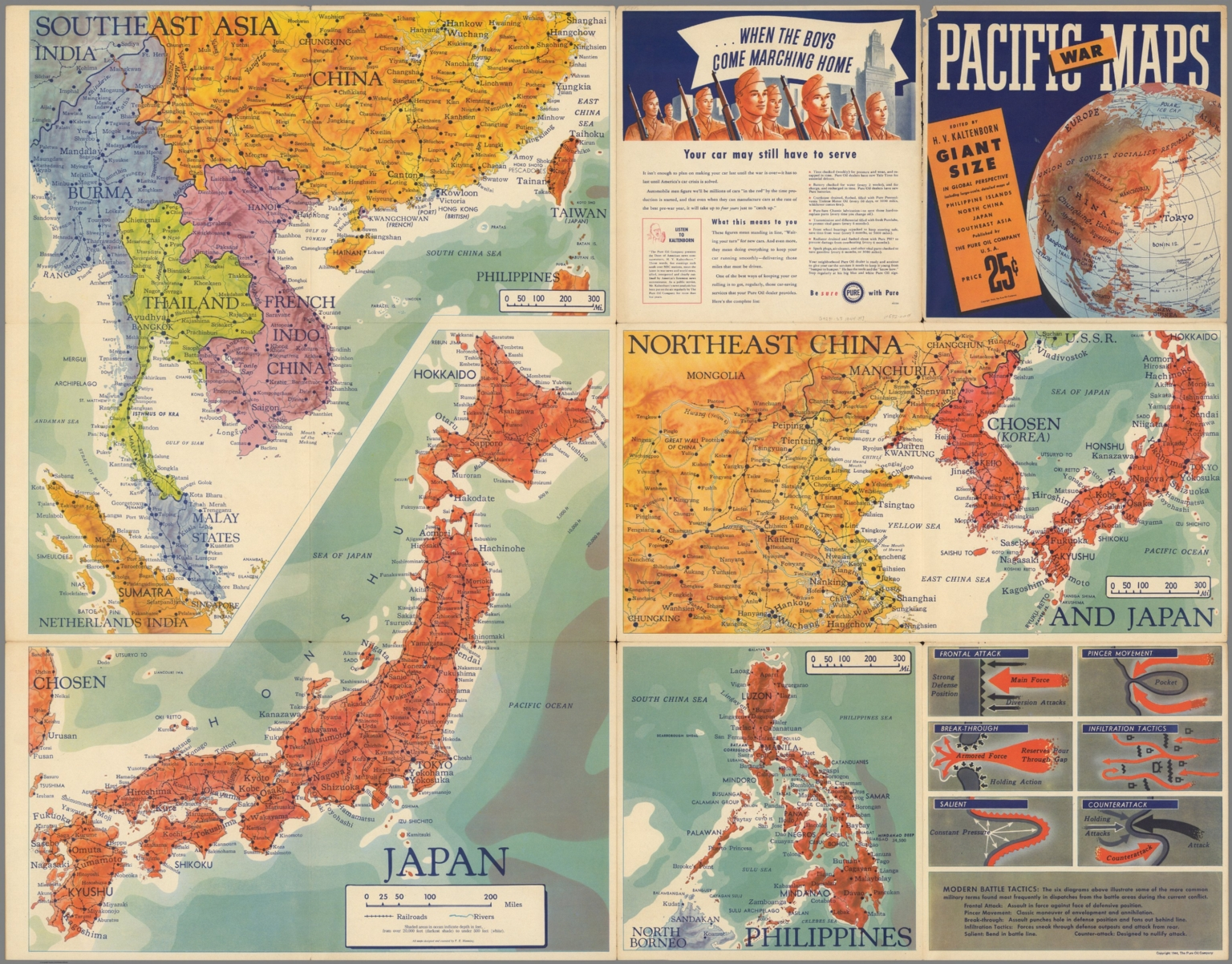 Map Of Asia Japan And China.Southeast Asia Japan Northeast China Philippines David Rumsey