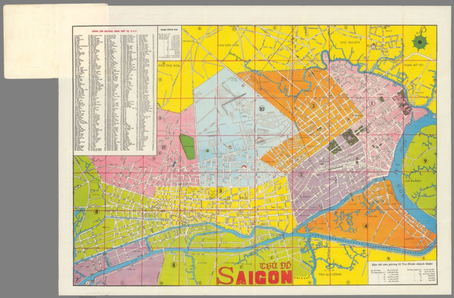 Picture of: Thu Do Saigon David Rumsey Historical Map Collection