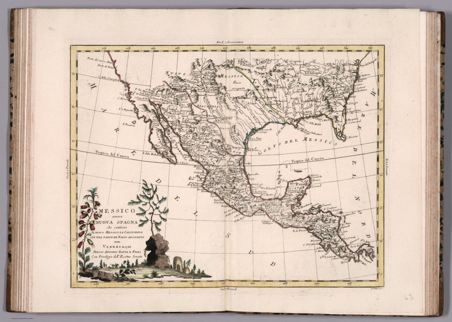 Messico ovvero Nuova Spagna