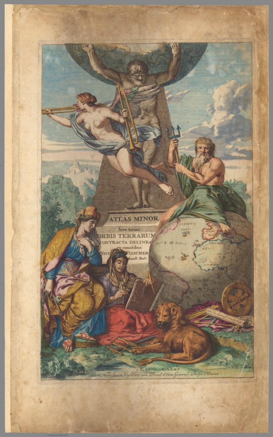 Title: Atlas minor sive totius orbis terrarum contracta