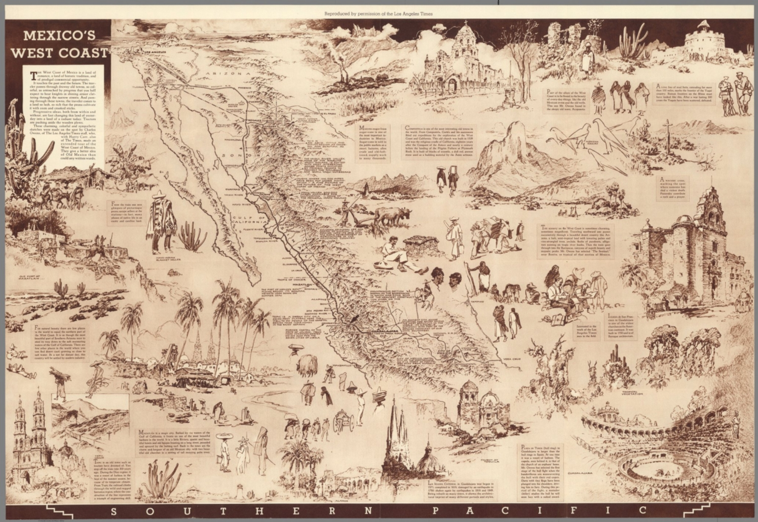 Mexico's West coast - David Rumsey Historical Map Collection on mexican west coast, map of mexico's pacific coast, map of mexico's east coast, map of mexico coast com, map of mexico's gulf coast, western mexico coast,