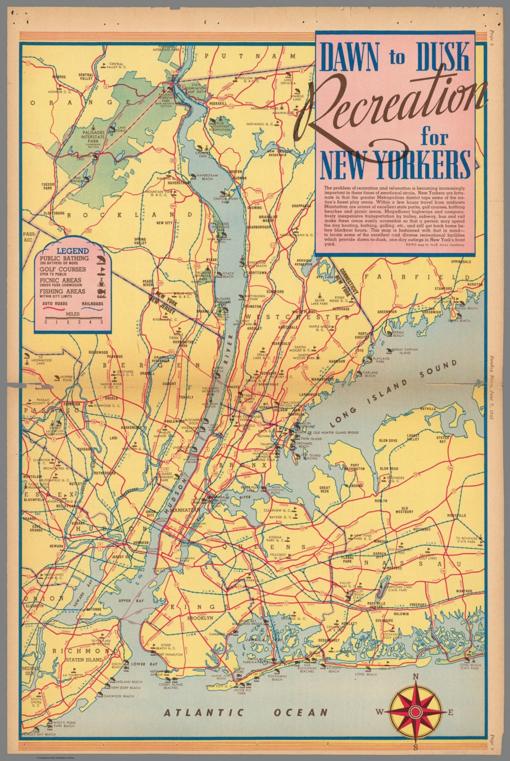 Dawn to Dusk Recreation for New Yorkers. June 7, 1942.