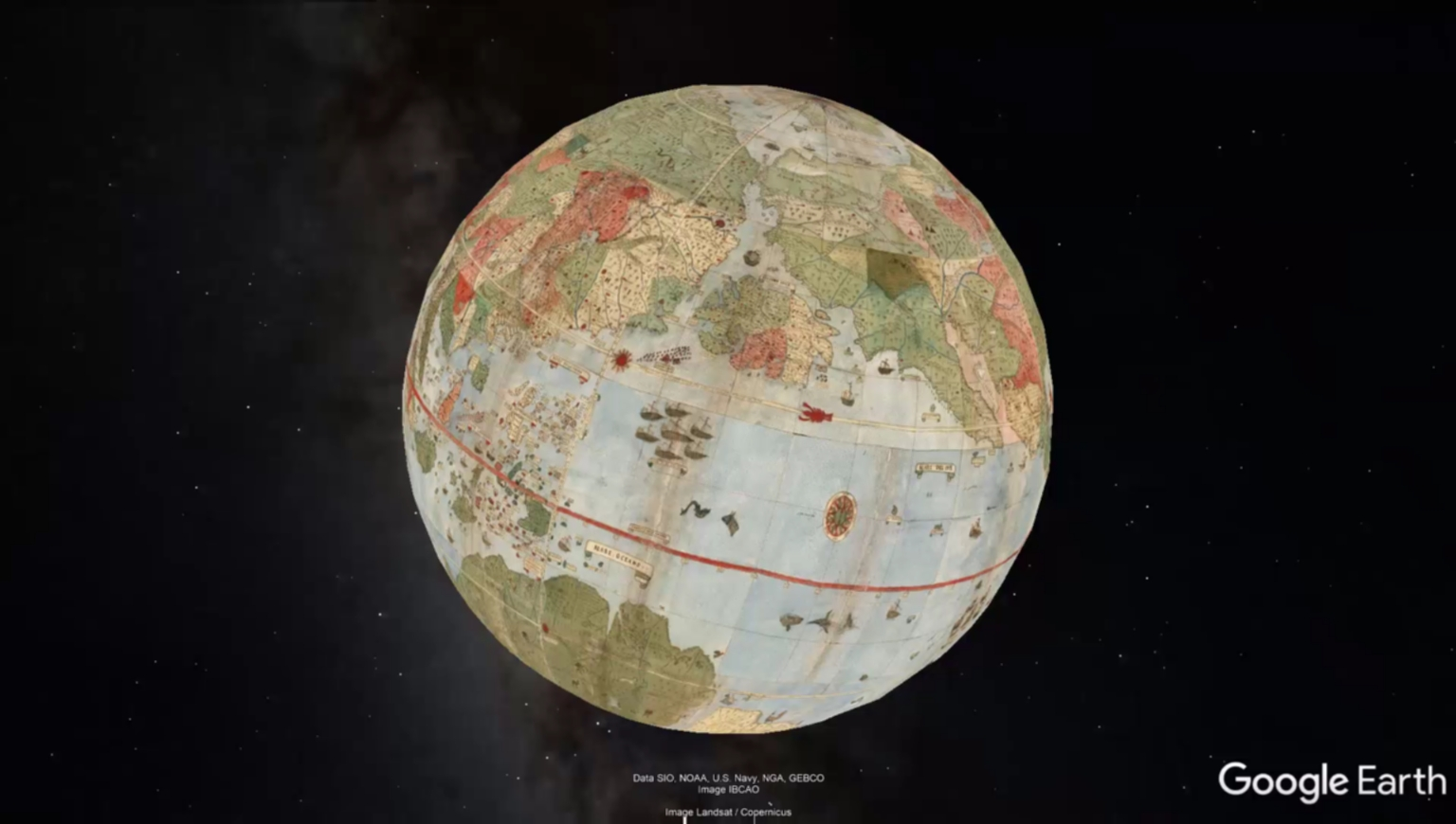 map of the world in google earth david rumsey historical map collection
