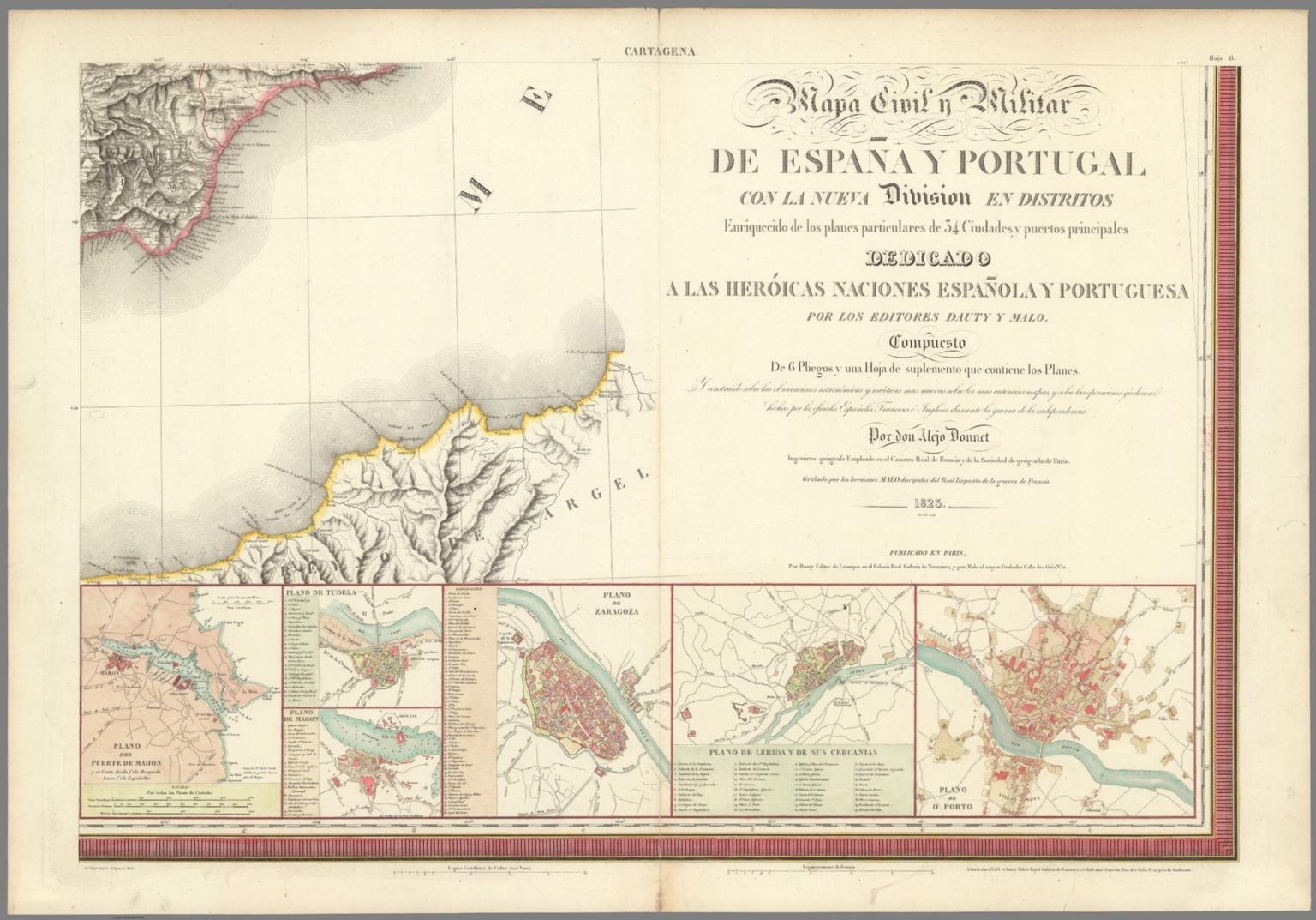 Hoja 6. Cartagena