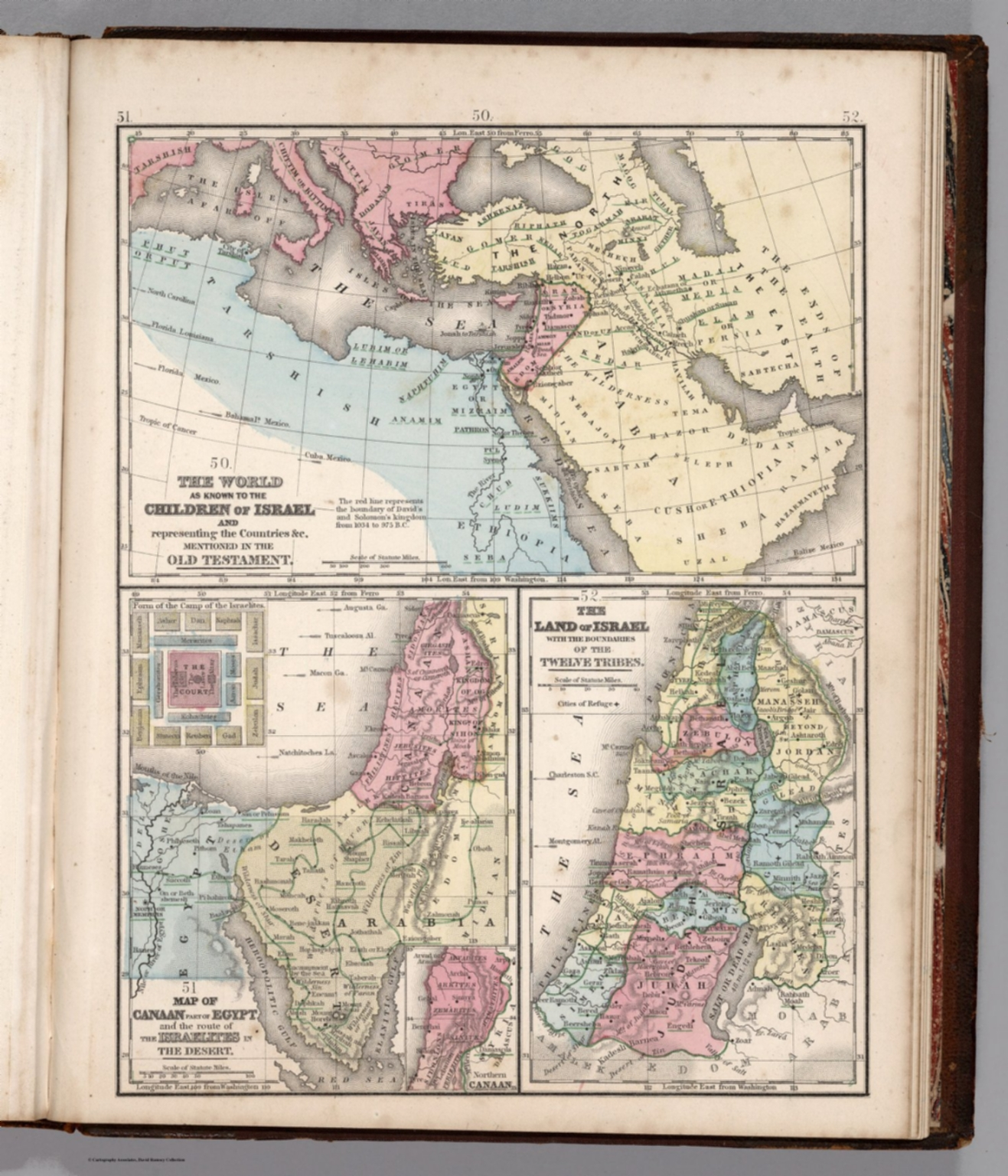 Map no 50 old testament 51 map of canaan 52 the land of israel old testament 51 map of canaan 52 the land of israel gumiabroncs Images