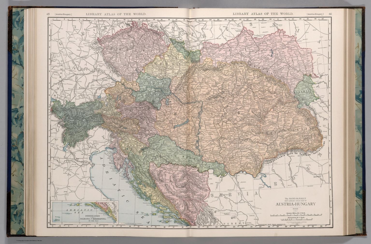 Picture of: Austria Hungary David Rumsey Historical Map Collection
