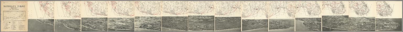 Sudostkuste England : Schragbildreihe I : Dover - North Foreland