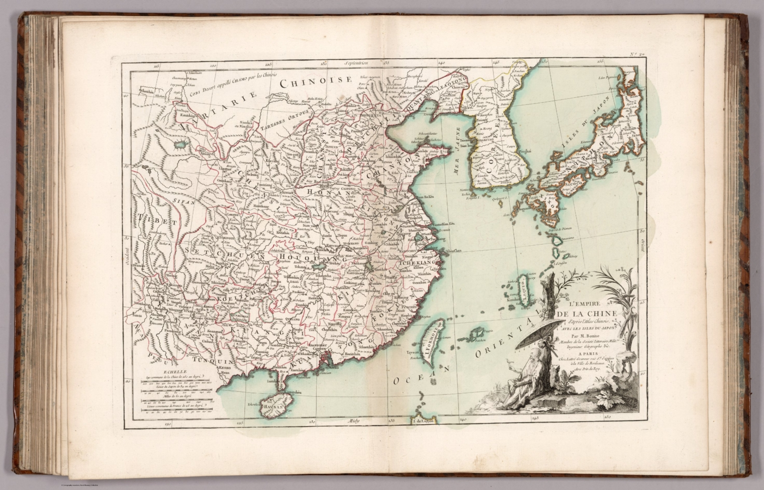 No. 27: L'Empire de la Chine d'apres l'atlas Chinois
